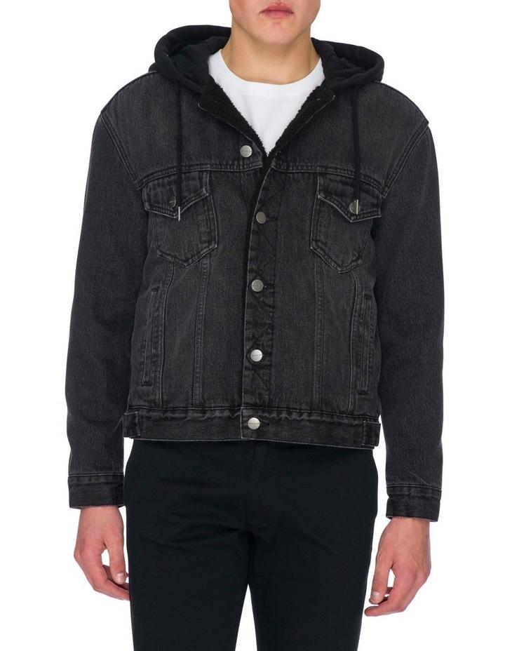 Leo Denim Hooded Jacket image 1