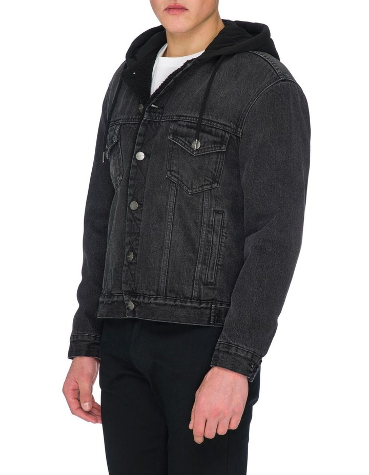 Leo Denim Hooded Jacket image 2