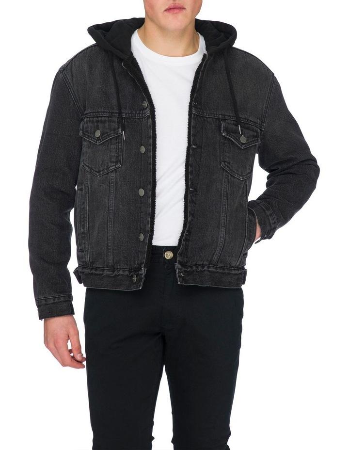 Leo Denim Hooded Jacket image 4