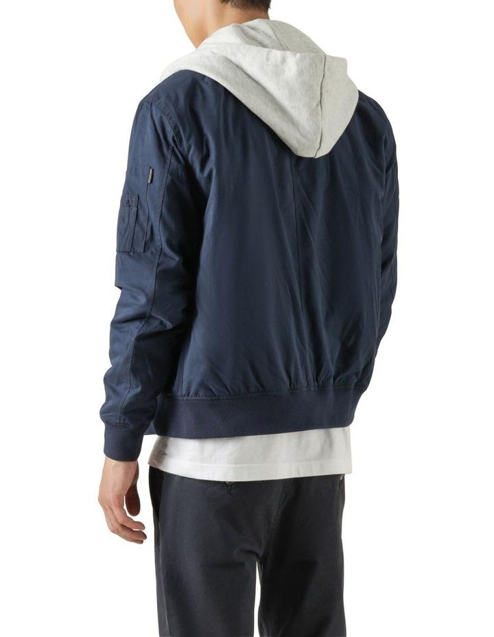 Flynn Hooded Bomber Jacket image 4