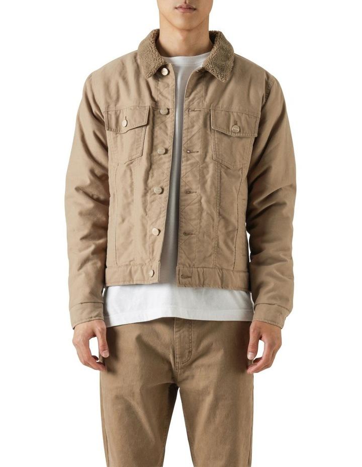 Pierce Sherpa Trucker Jacket image 1