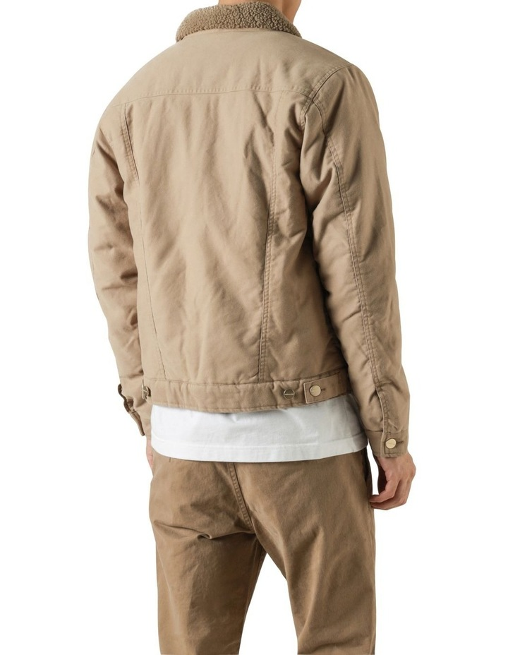 Pierce Sherpa Trucker Jacket image 4