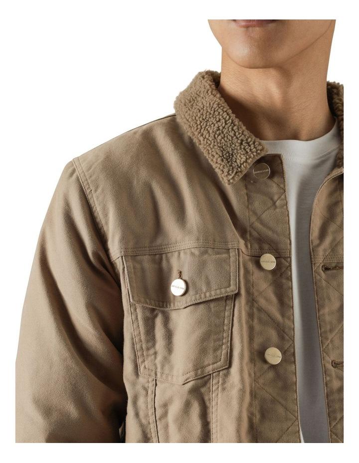 Pierce Sherpa Trucker Jacket image 5