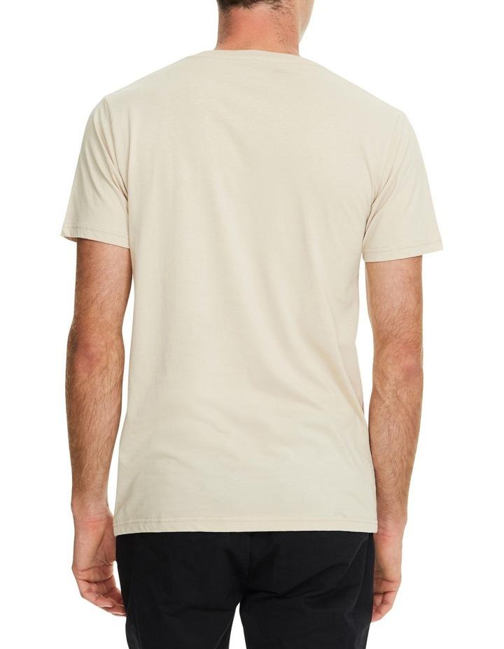 Plain Crew T-Shirt in Sand image 2