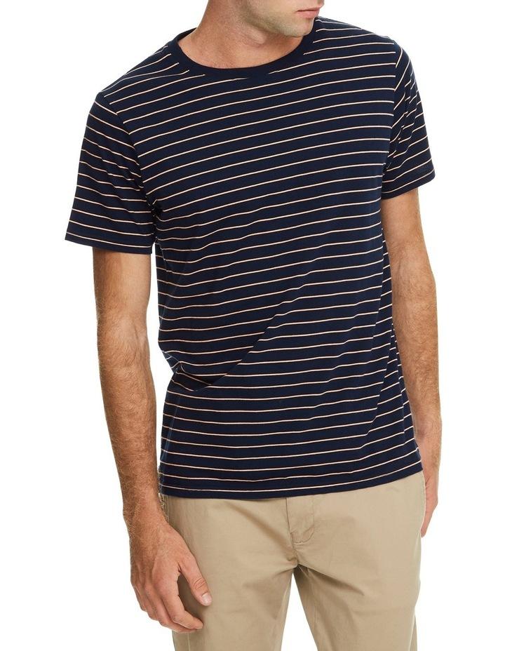 Manual Short Sleeve Stripe Tee image 1
