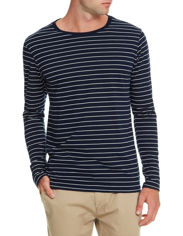 Manual Long Sleeve Stripe Tee image 1