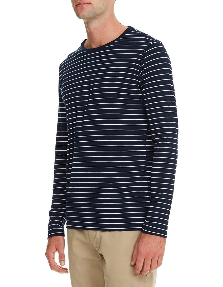 Manual Long Sleeve Stripe Tee image 2