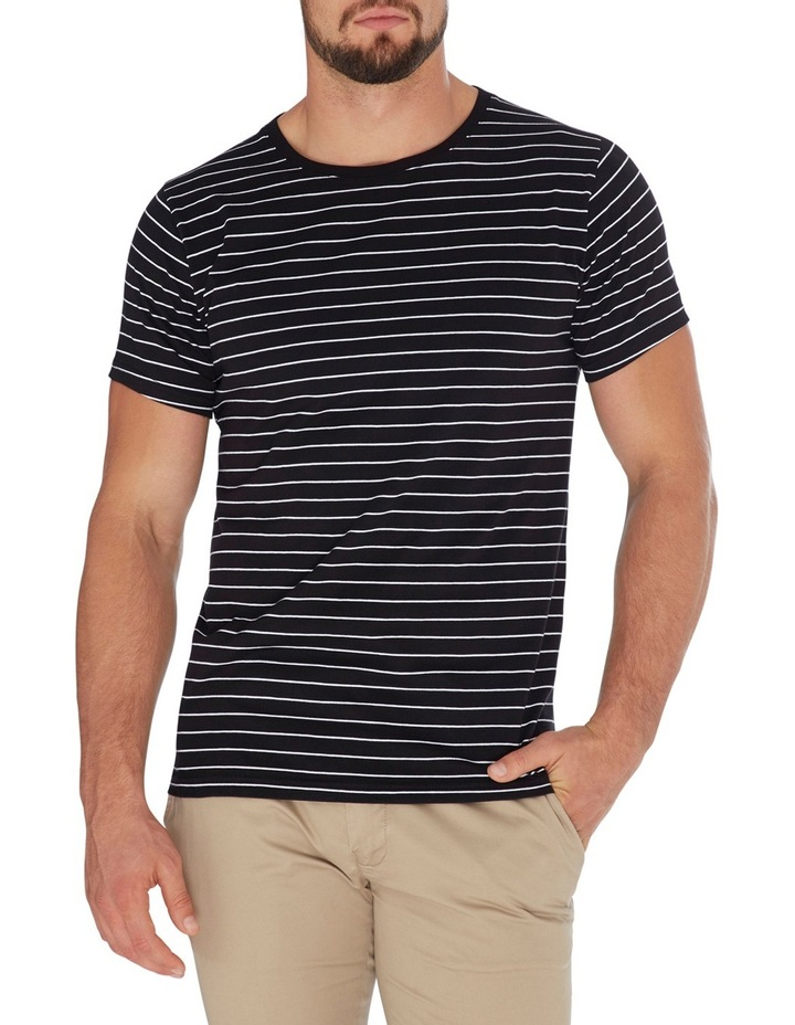 Manual Short Sleeve Stripe Tee image 1