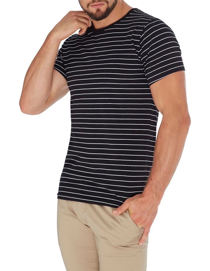 Manual Short Sleeve Stripe Tee image 3