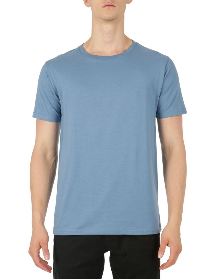 Plain Short Sleeve Crew Tee image 1