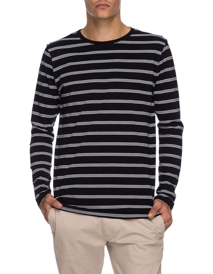 Chase Long Sleeve Stripe Tee image 1