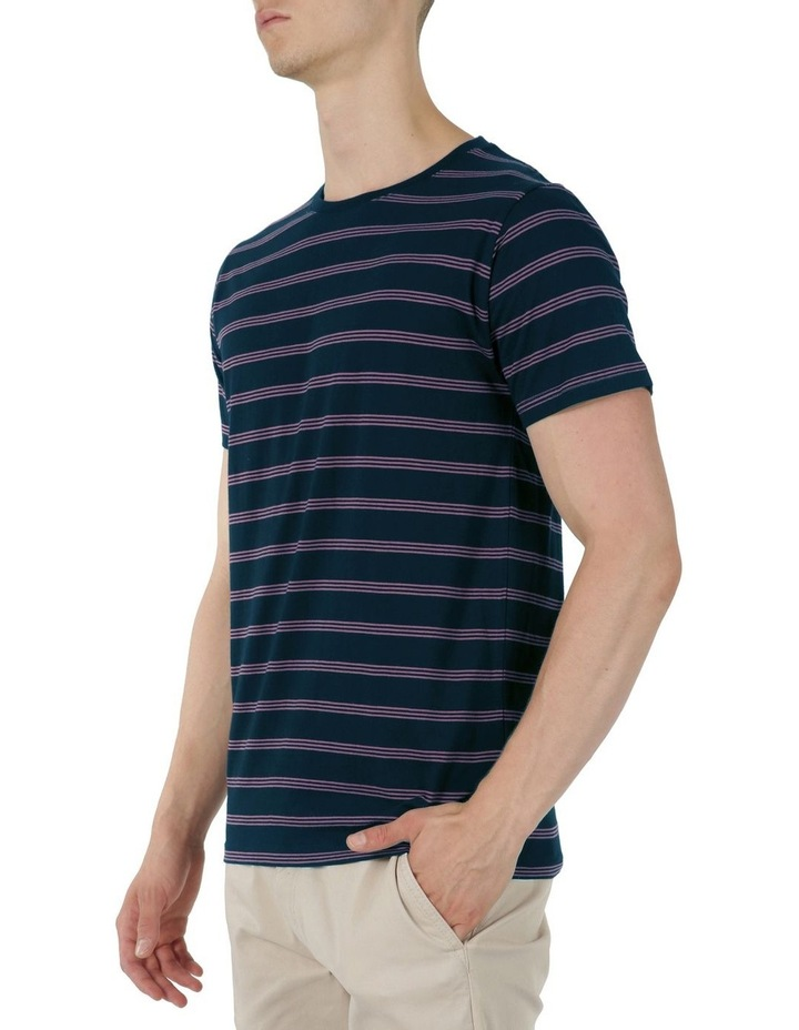 Chase Short Sleeve Stripe Tee image 2