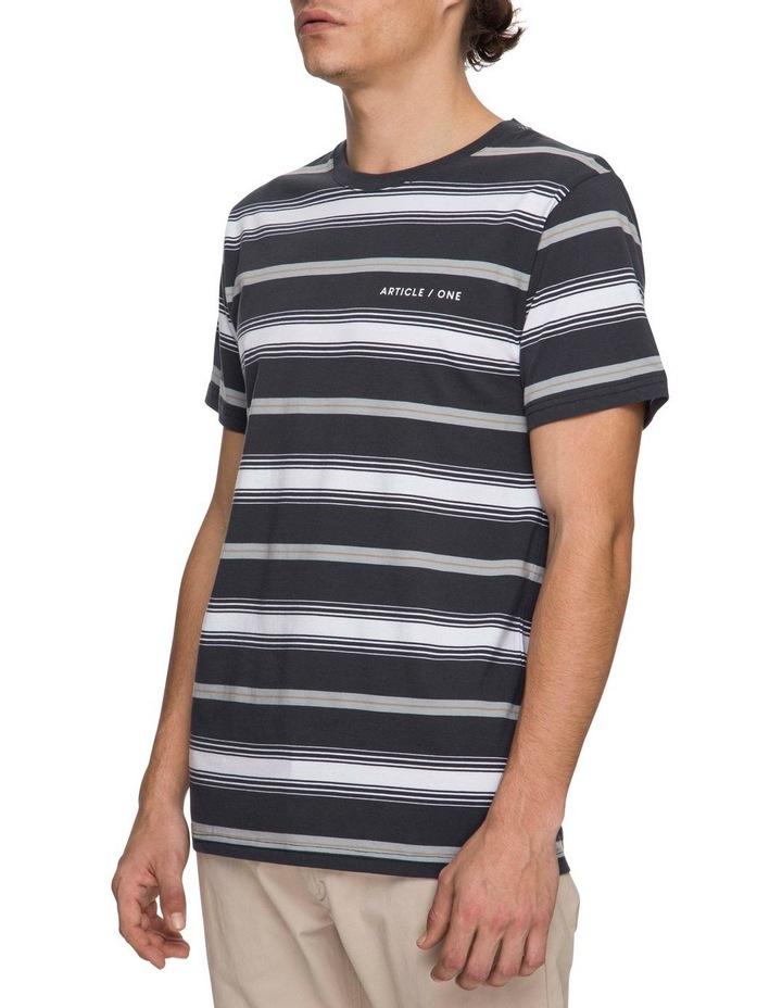Taj Short Sleeve Striped Tee image 2