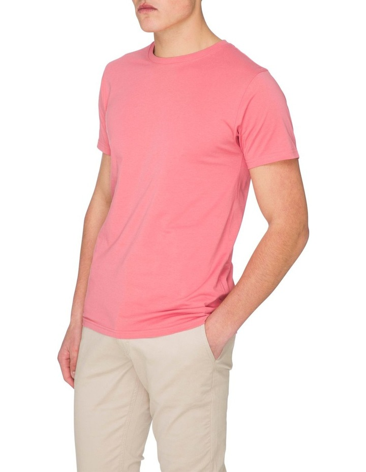 Plain Short Sleeve Crew Tee image 2