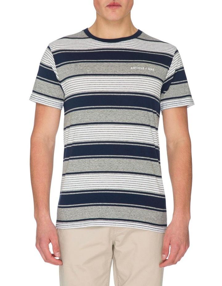 Java Stripe Short Sleeve Tee image 1