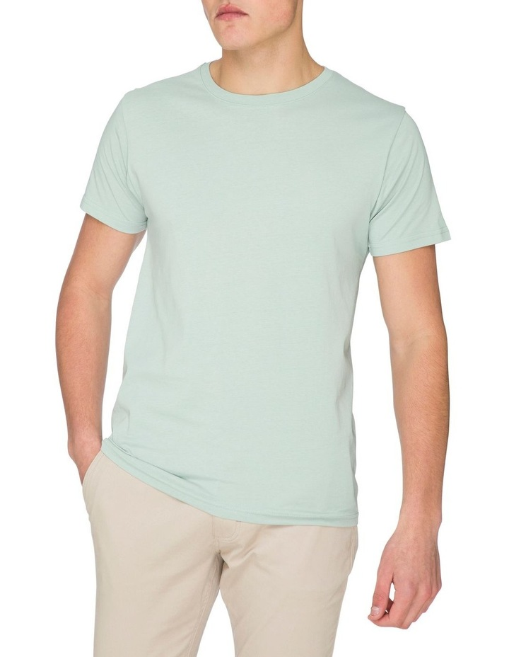 Plain Short Sleeve Crew Tee image 4