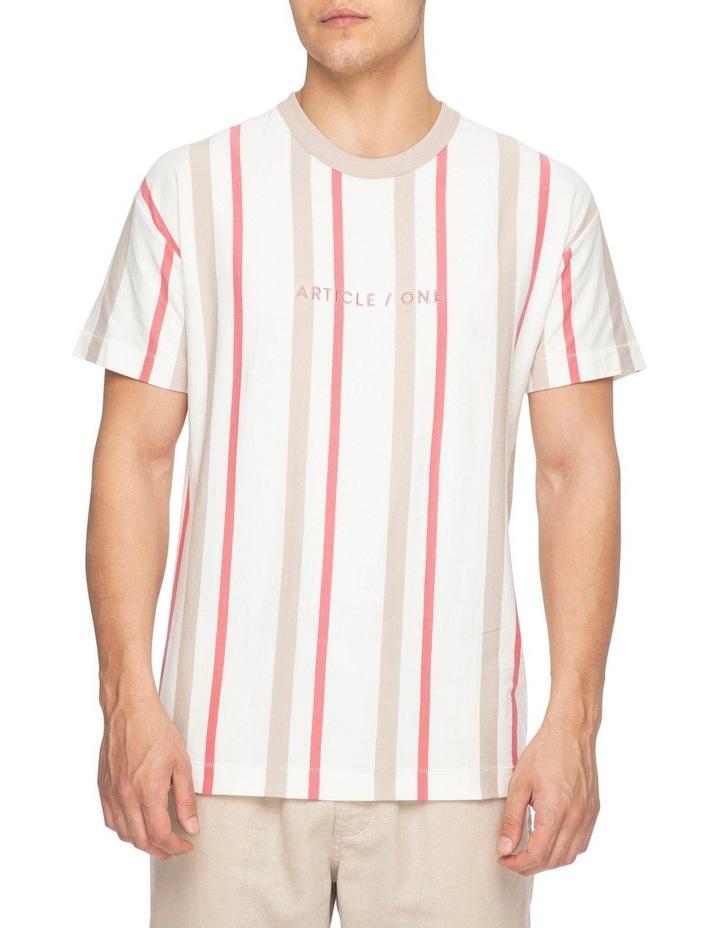Huntington Stripe 90S Short Sleeve Tee image 1