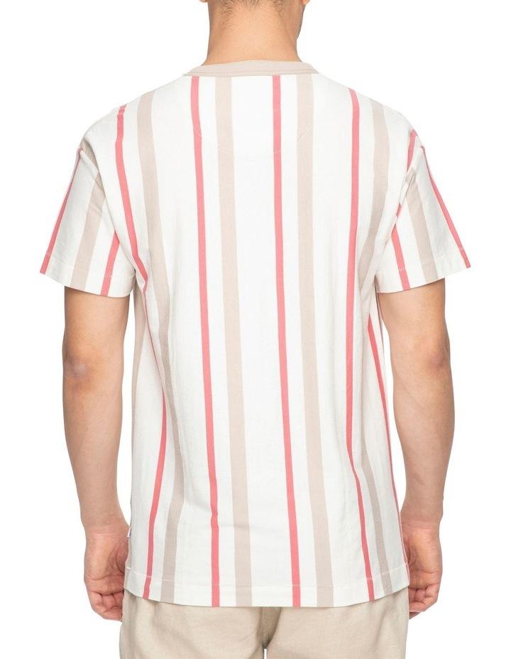 Huntington Stripe 90S Short Sleeve Tee image 3