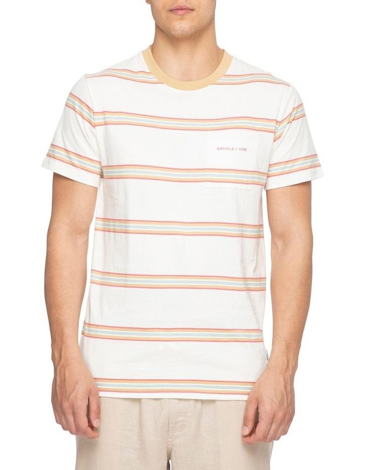 Moonstone Stripe Short Sleeve Tee image 1