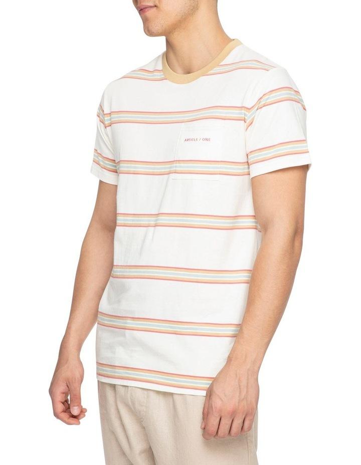 Moonstone Stripe Short Sleeve Tee image 2
