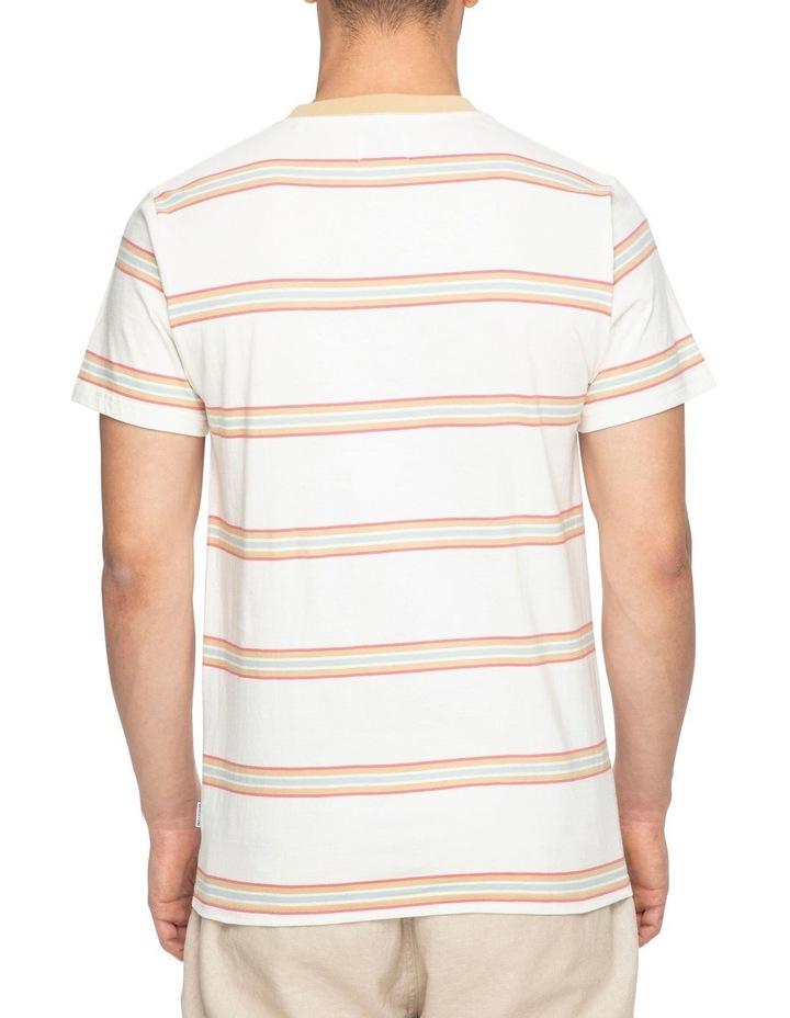 Moonstone Stripe Short Sleeve Tee image 3