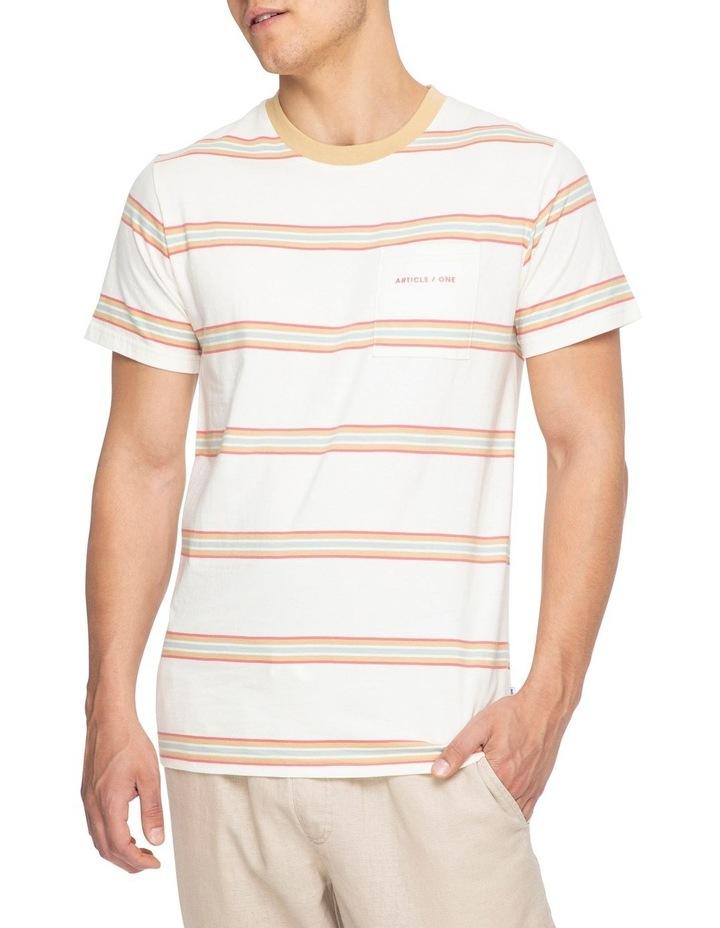 Moonstone Stripe Short Sleeve Tee image 4