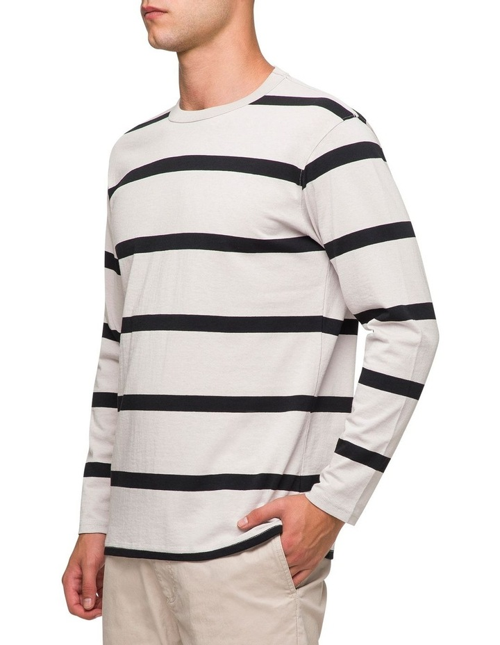 Ezra Stripe Long Sleeve Tee image 2