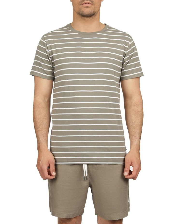Casper Stripe Short Sleeve Tee image 1