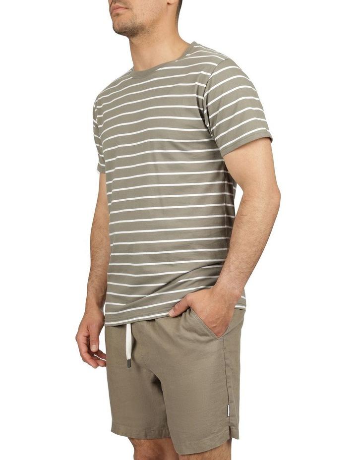 Casper Stripe Short Sleeve Tee image 2