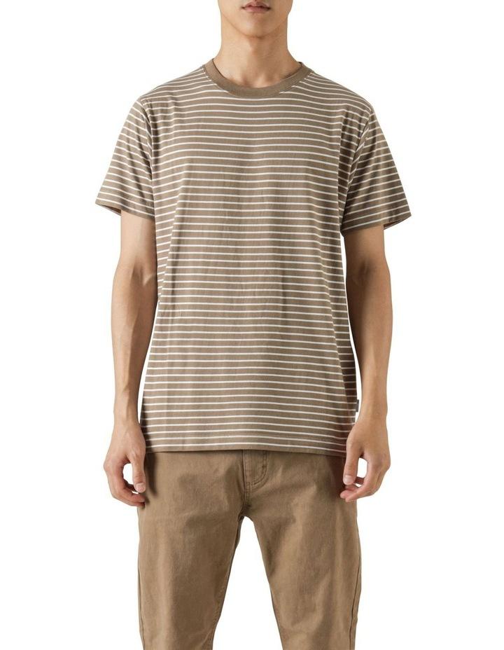 Avery Stripe Short Sleeve Tee image 1