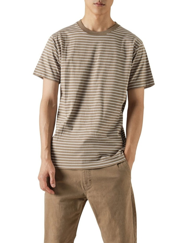 Avery Stripe Short Sleeve Tee image 3