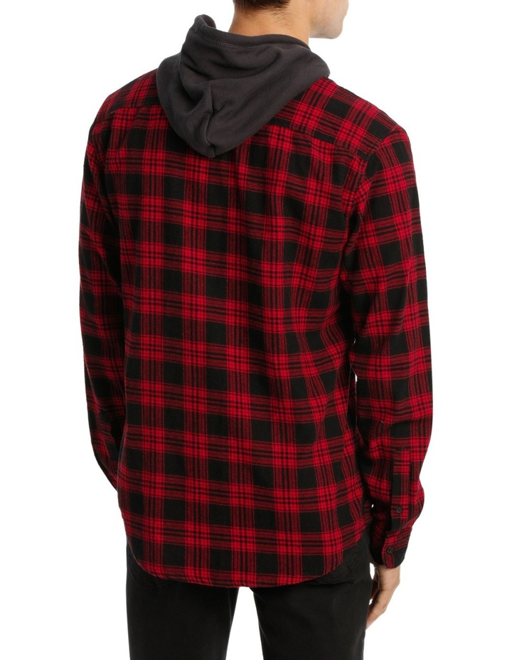 MORRY FLANNEL HOODED SHIRT image 3