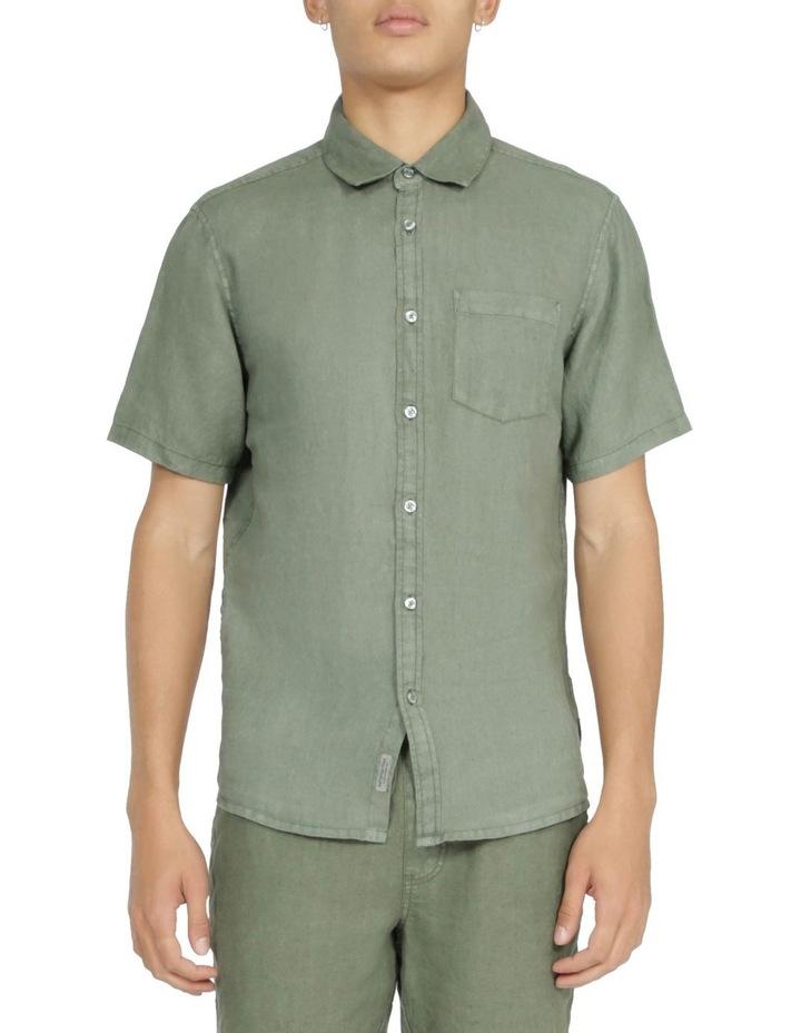 Slater Short Sleeve Linen Shirt image 1
