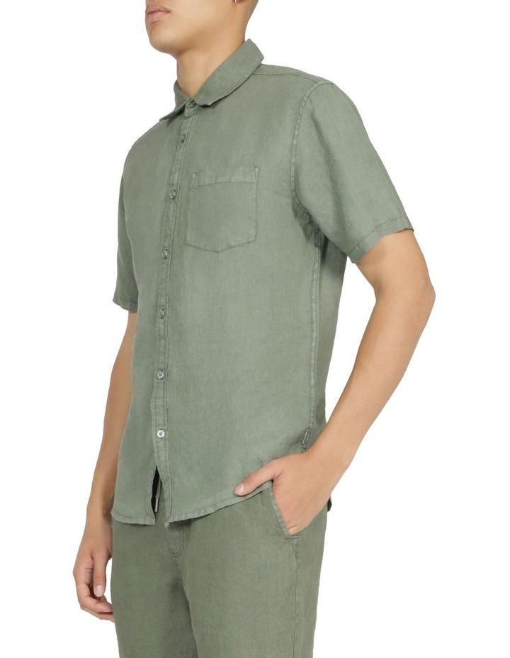 Slater Short Sleeve Linen Shirt image 2