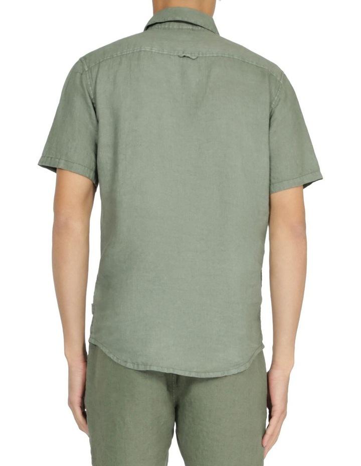 Slater Short Sleeve Linen Shirt image 3