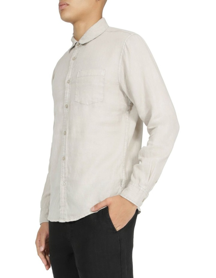 Slater Long Sleeve Linen Shirt image 1