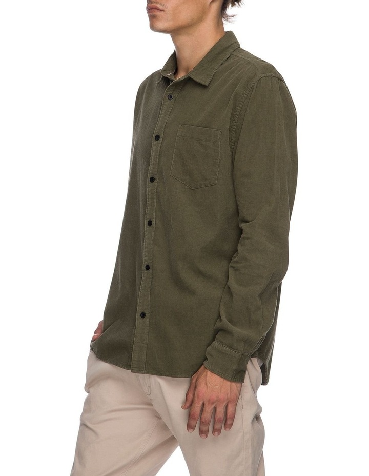 Sora Long Sleeve Cord Shirt image 2
