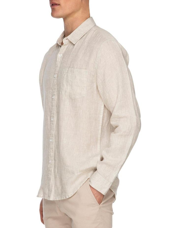 Zane Long Sleeve Linen Shirt image 2