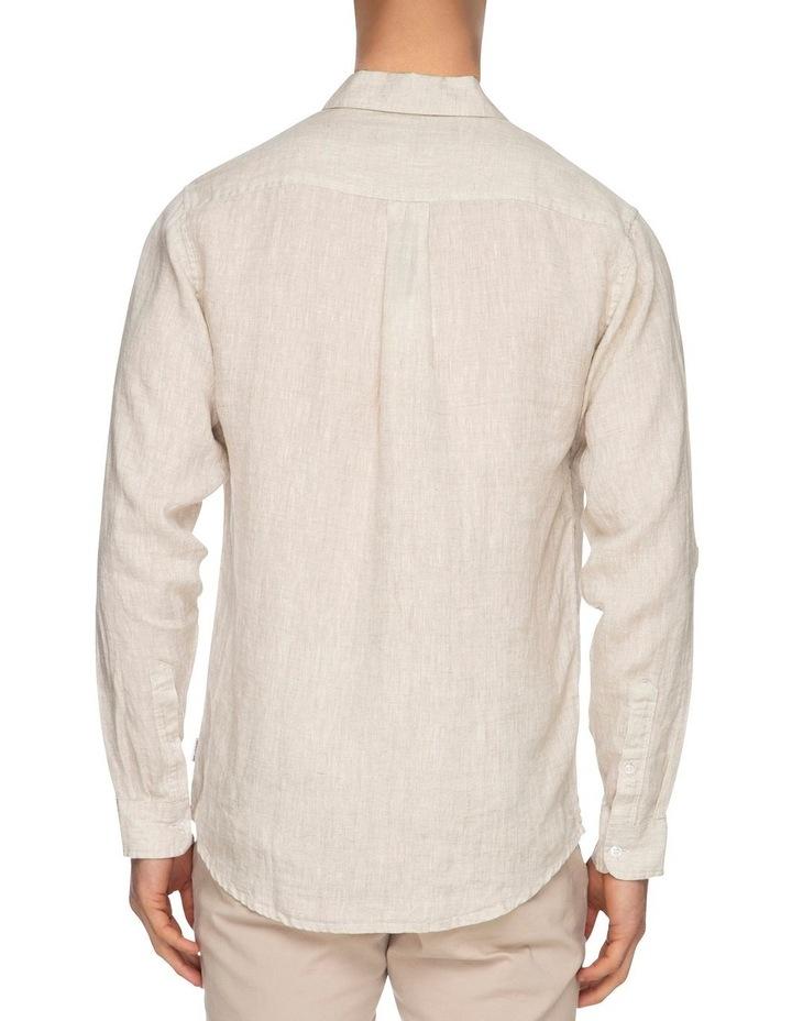Zane Long Sleeve Linen Shirt image 3