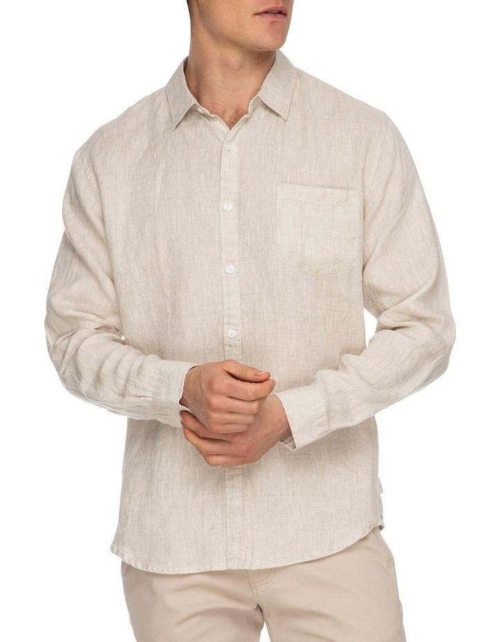 Zane Long Sleeve Linen Shirt image 4