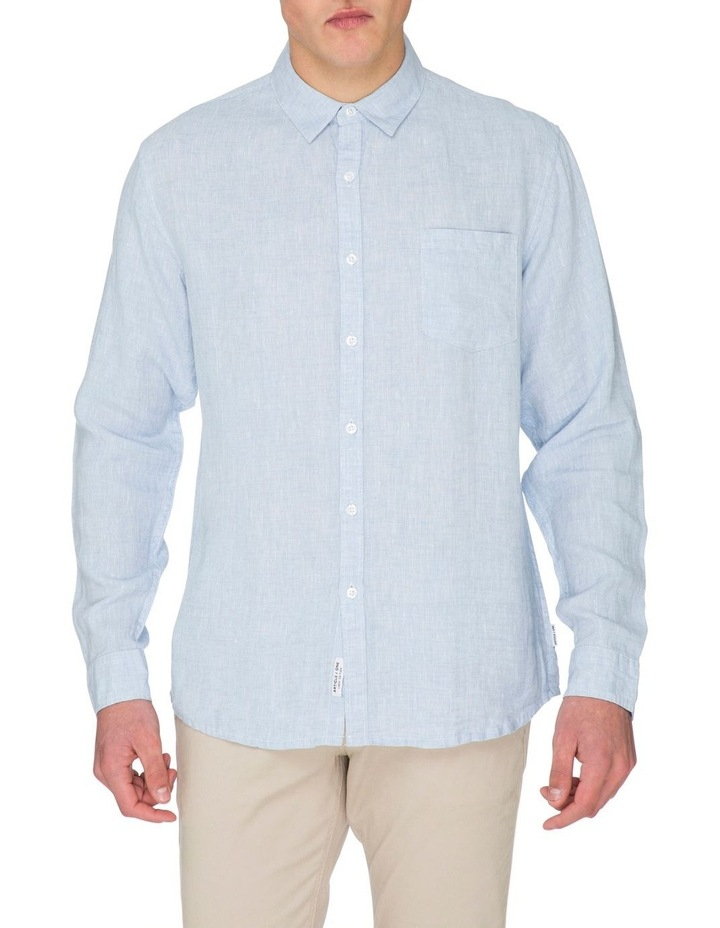 Zane Long Sleeve Linen Shirt image 2