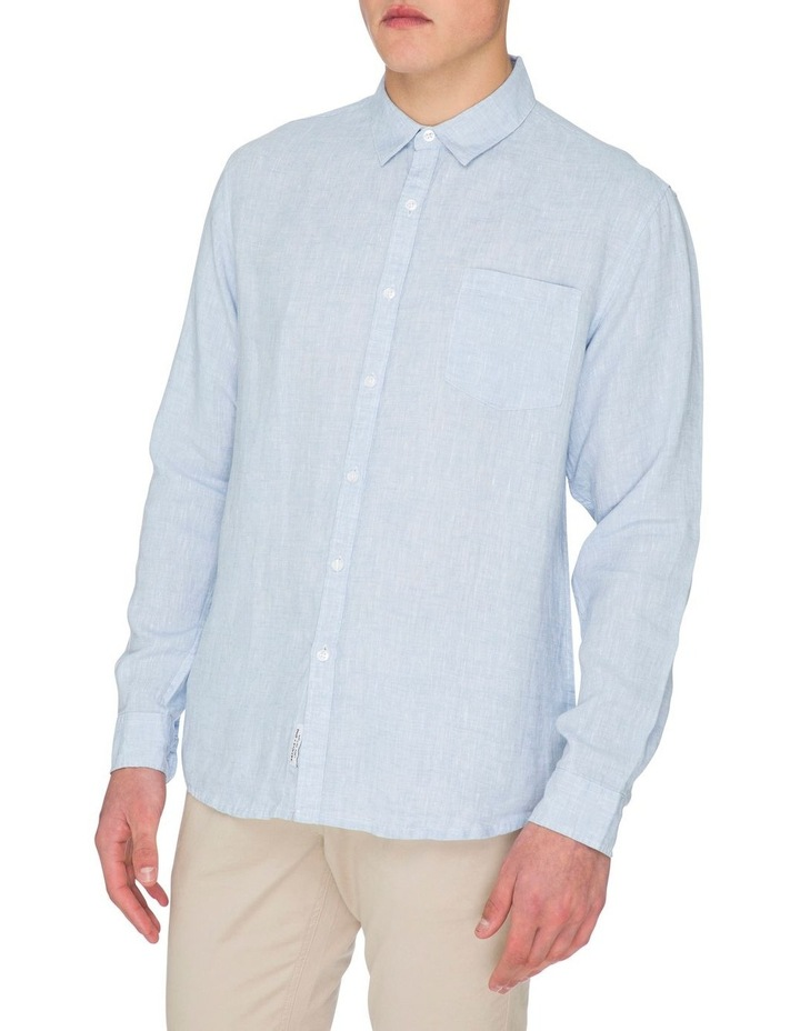 Zane Long Sleeve Linen Shirt image 3