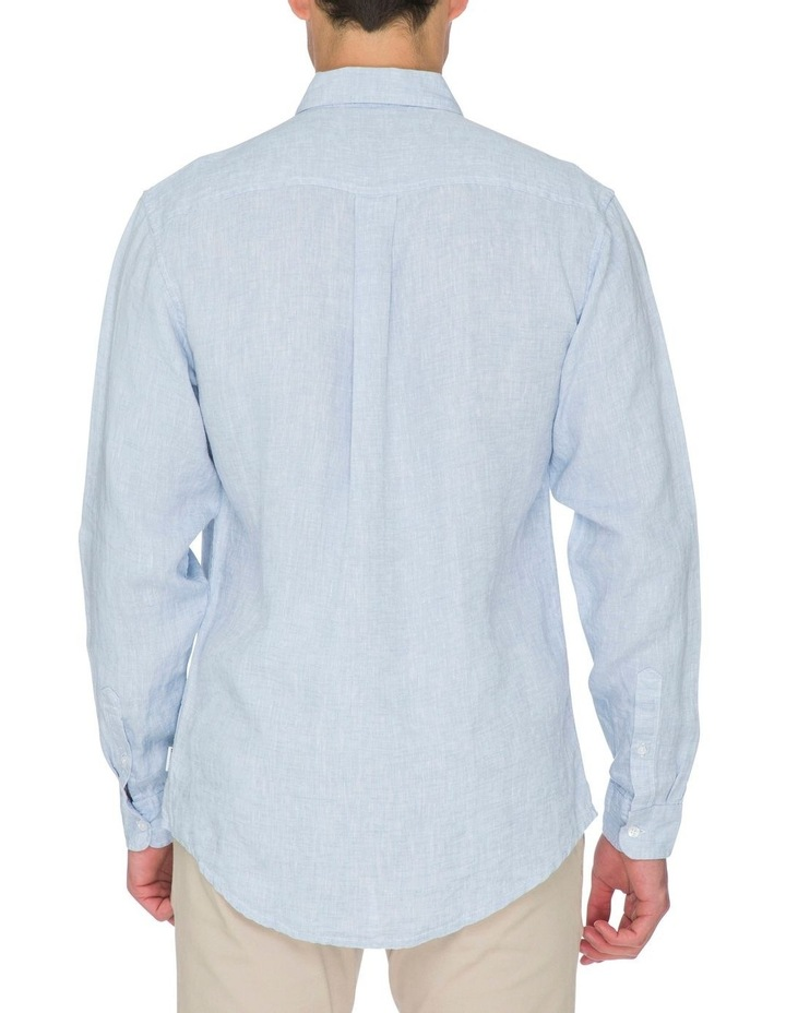 Zane Long Sleeve Linen Shirt image 4
