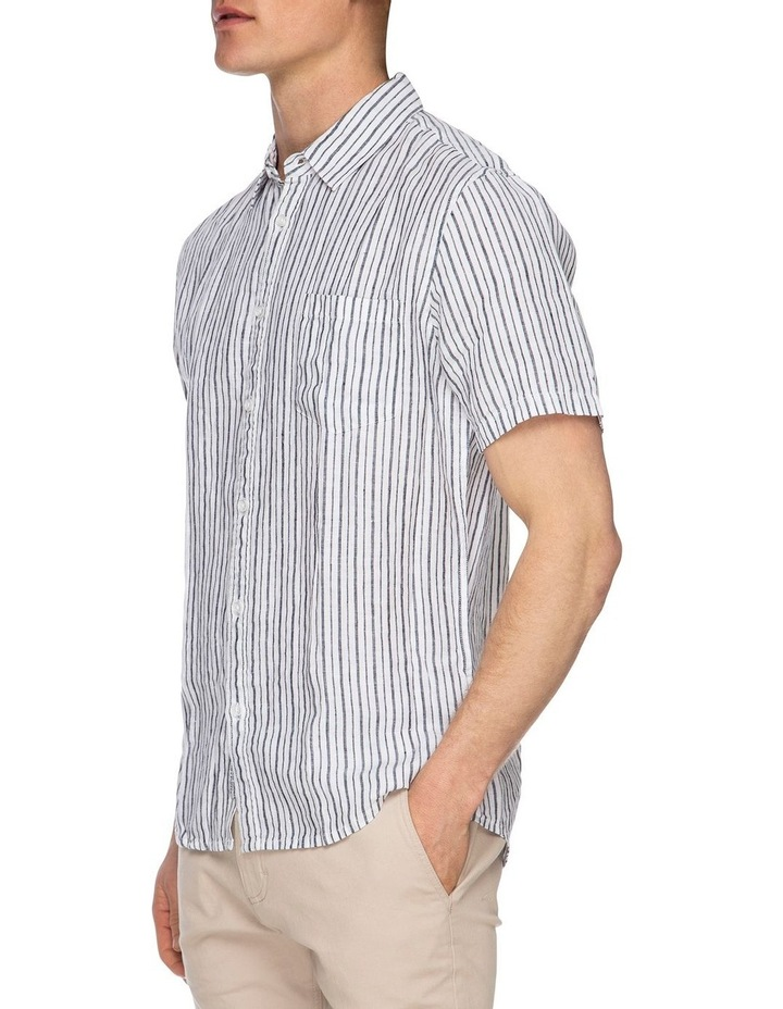 Diego Short Sleeve Linen Shirt image 2