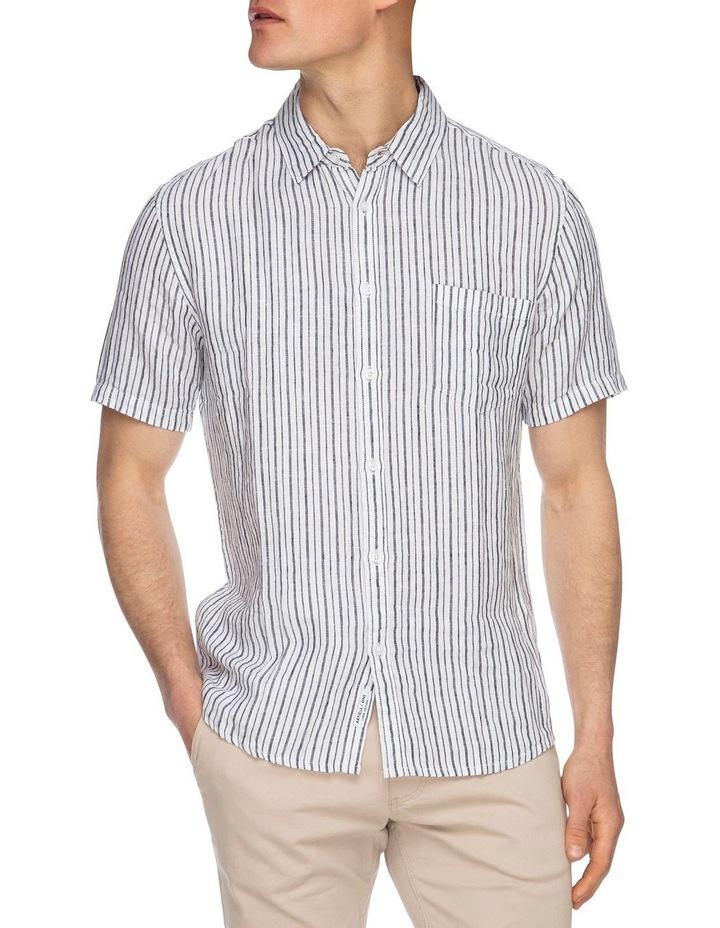 Diego Short Sleeve Linen Shirt image 4