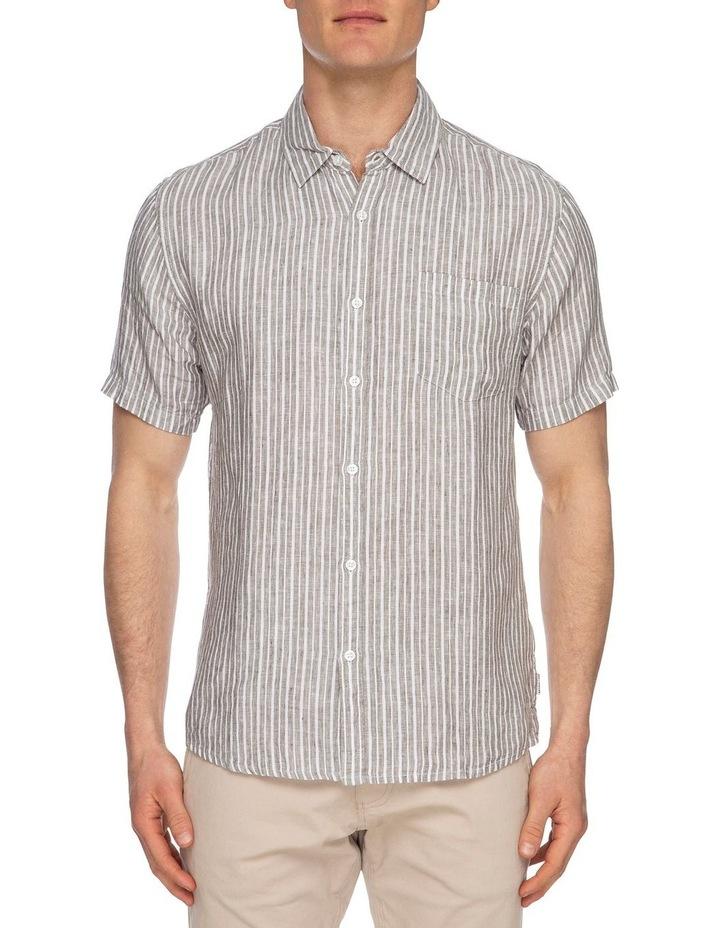 Diego Short Sleeve Linen Shirt image 1
