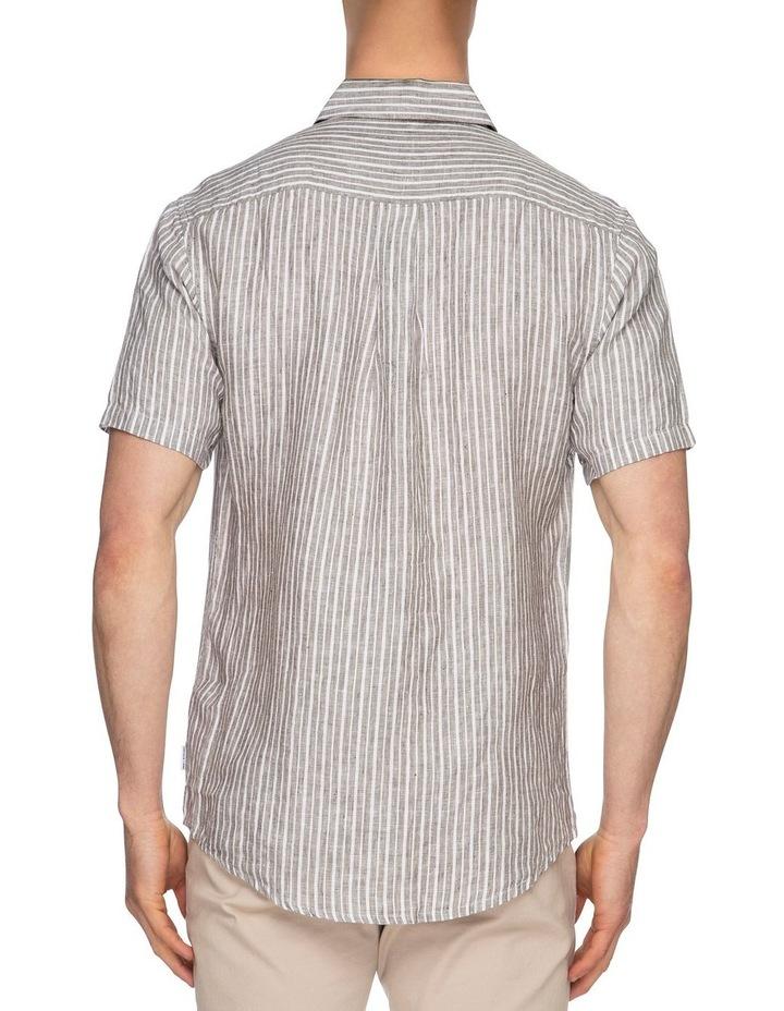 Diego Short Sleeve Linen Shirt image 3