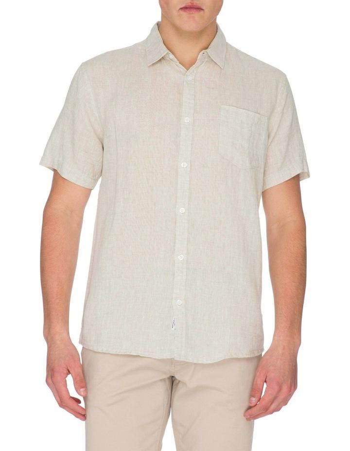 Zane Short Sleeve Linen Shirt image 1