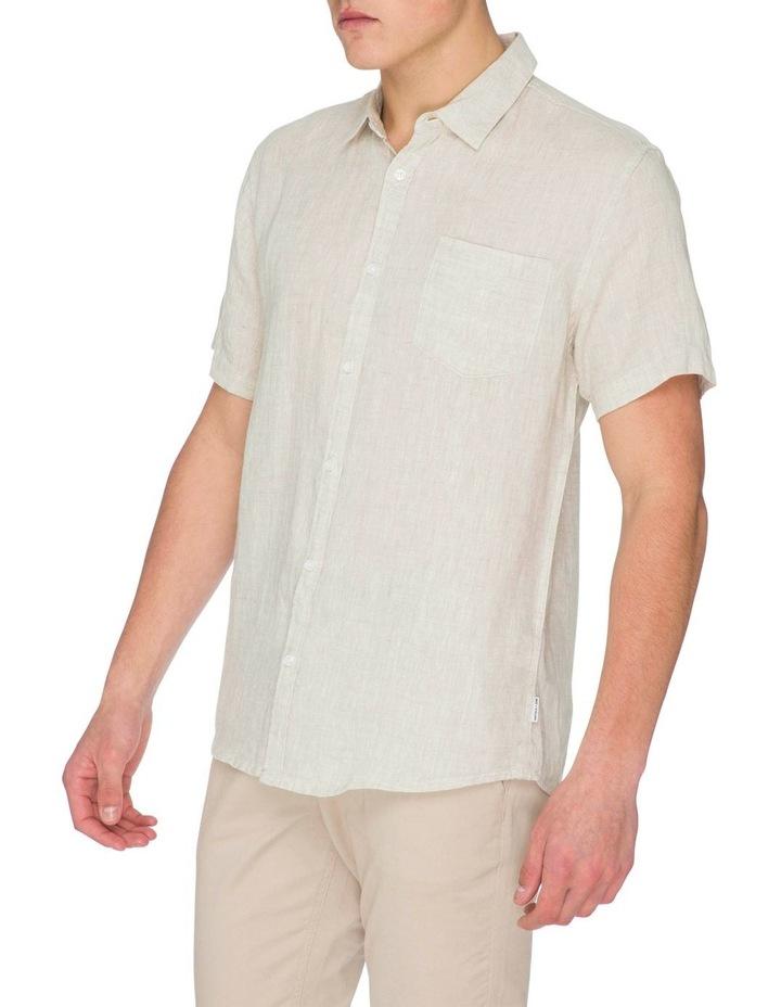 Zane Short Sleeve Linen Shirt image 2