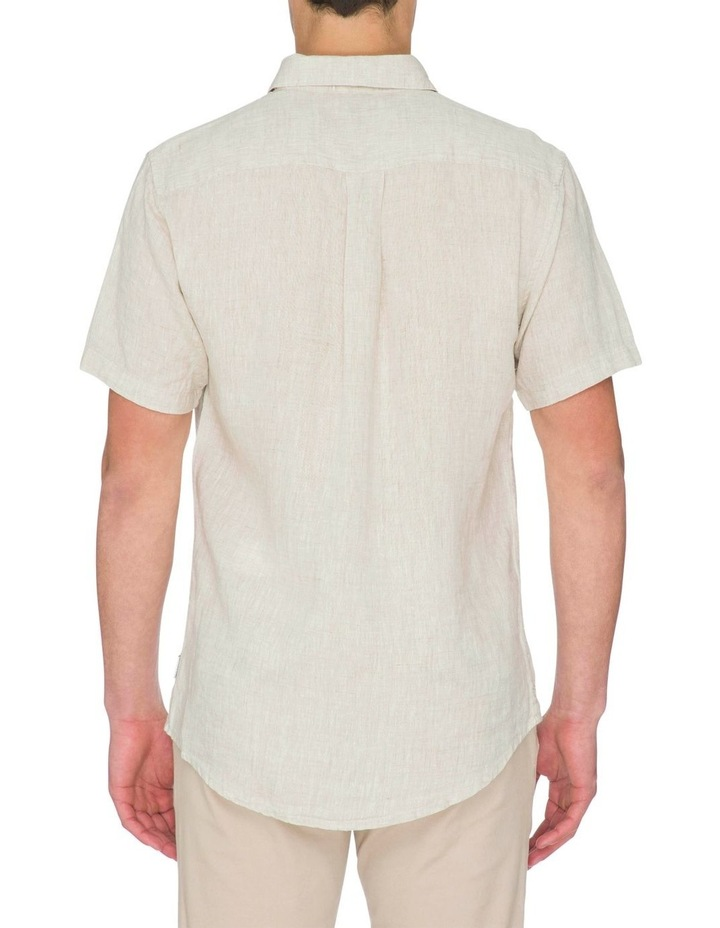 Zane Short Sleeve Linen Shirt image 3